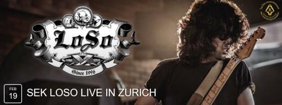 Sek Loso seit 1996 live in Zürich